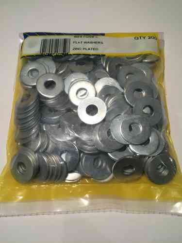 8mm Heavy Duty Washers (Pk 200)