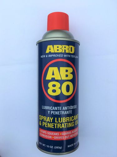 Spray Lubricant & Penetrating Oil